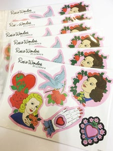 Image of Lovely Ladies Stickers