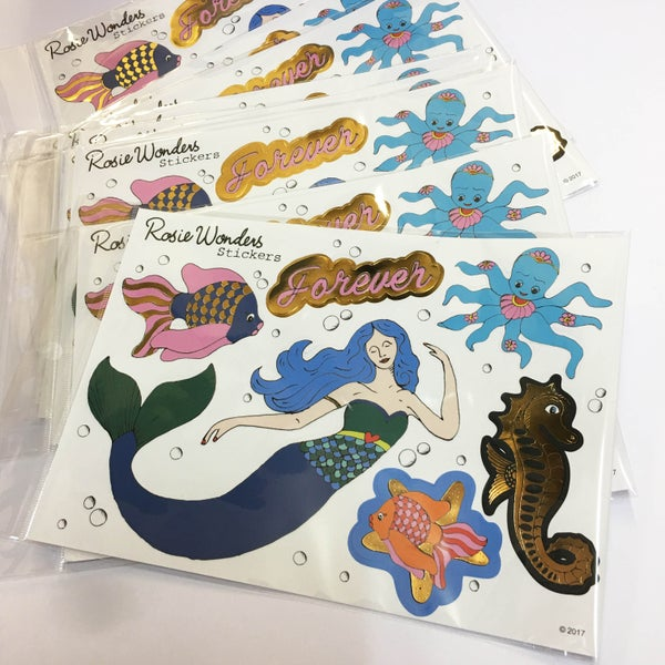 Image of Forever Mermaid Stickers