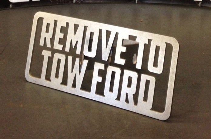 Image of Remove To Tow Ford Hitch Cover
