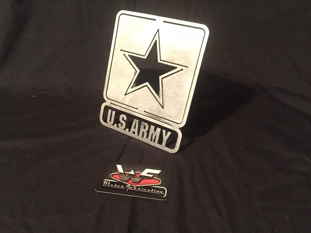 Image of US Army Hitch Cover - United States Army
