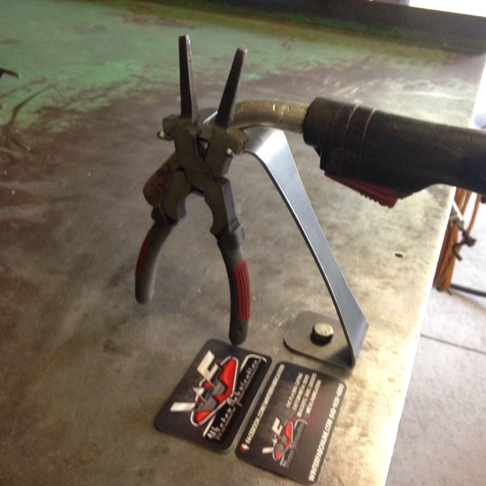 Image of MIG Torch Stand w/ Built In Welding Pliers Holder