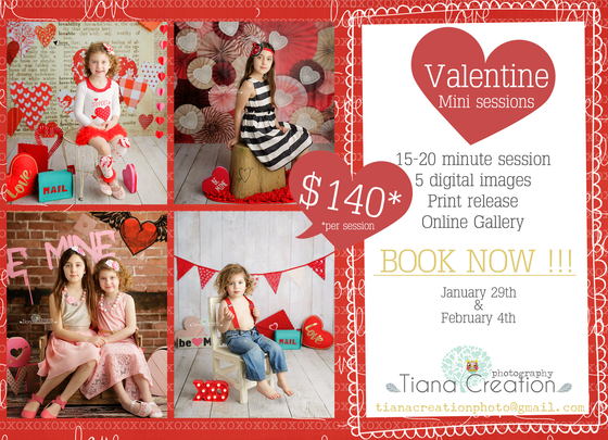 Image of Valentine's Mini January 29th