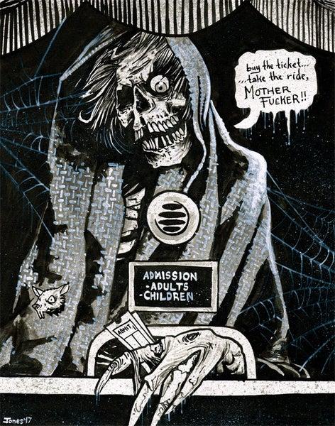 Image of 'Creepshow' Original Painting