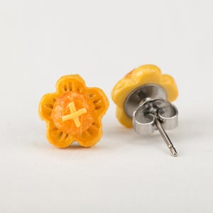 Image of Sakura Pineapple Tart Ear Studs