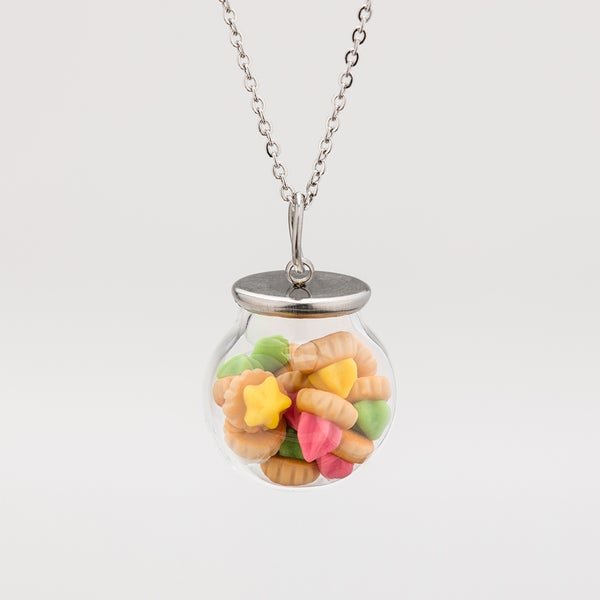 Image of Iced Gems Biscuits Necklace