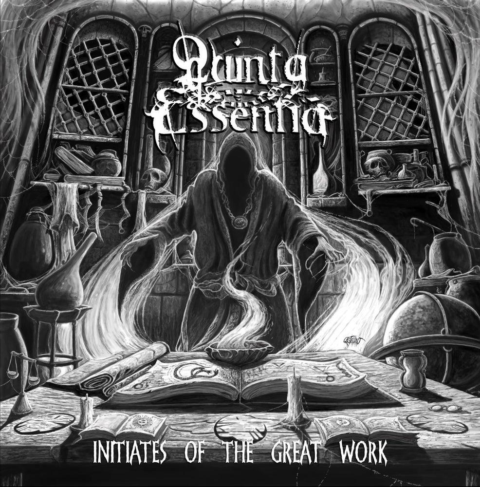 """Image of QUINTA ESSENTIA """" Initiates of the Great Work  """" CD"""