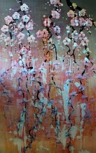 """Image of Lily Greenwood Giclée Print - Violet Blossoms - 10""""x 16"""" (Open Edition)"""