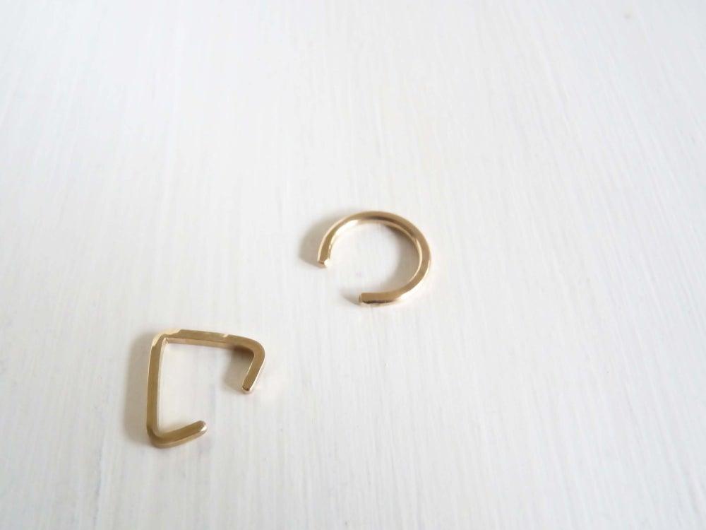 Image of Geo ear cuff