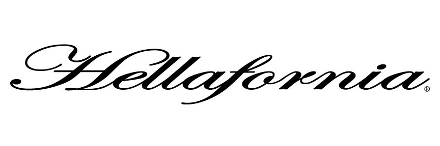 "Image of 12"" Hellafornia Script Decal (8 Color Selection)"