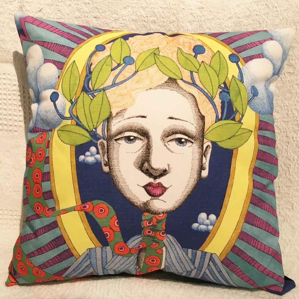 Image of Goddess #14 - Cushion Cover