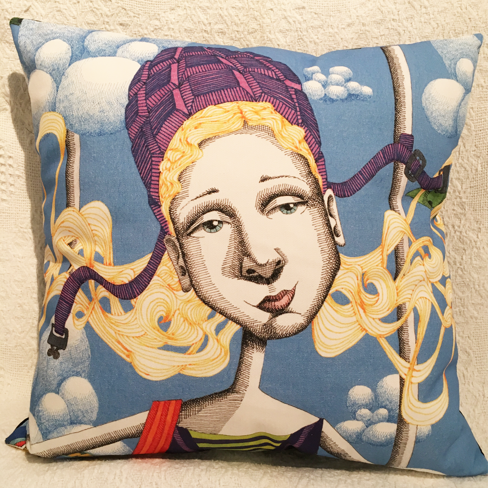 Image of Goddess #15 - Cushion Cover
