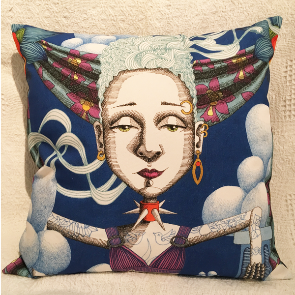 Image of Goddess #16 - Cushion Cover
