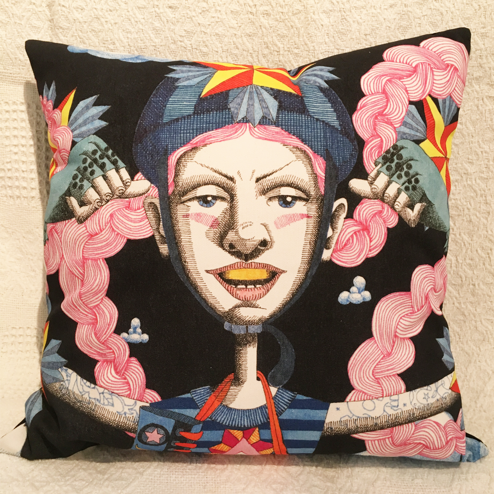 Image of Goddess #17 - Cushion Cover