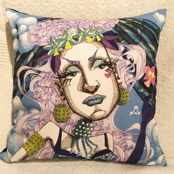 Image of Goddess #18 - Cushion Cover