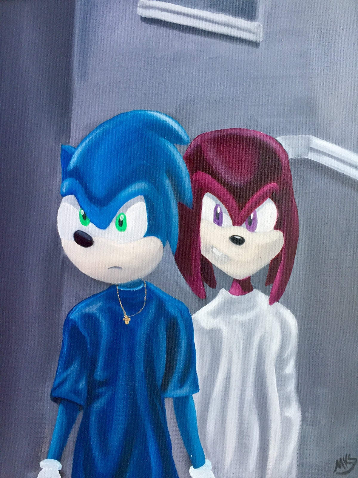 "Image of ""Classic Meets Classic: Menace II Society Meets Sonic and Knuckles"""