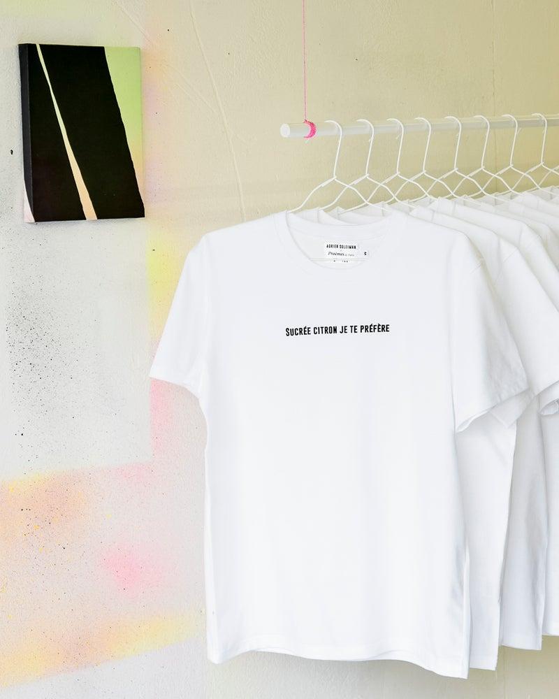 """Image of T-shirt """"Sucrée citron je te préfère"""""""