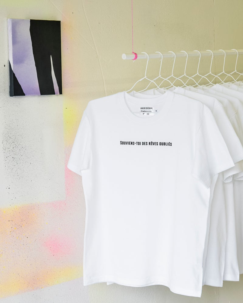 """Image of T-shirt """"Souviens-toi des rêves oubliés"""""""