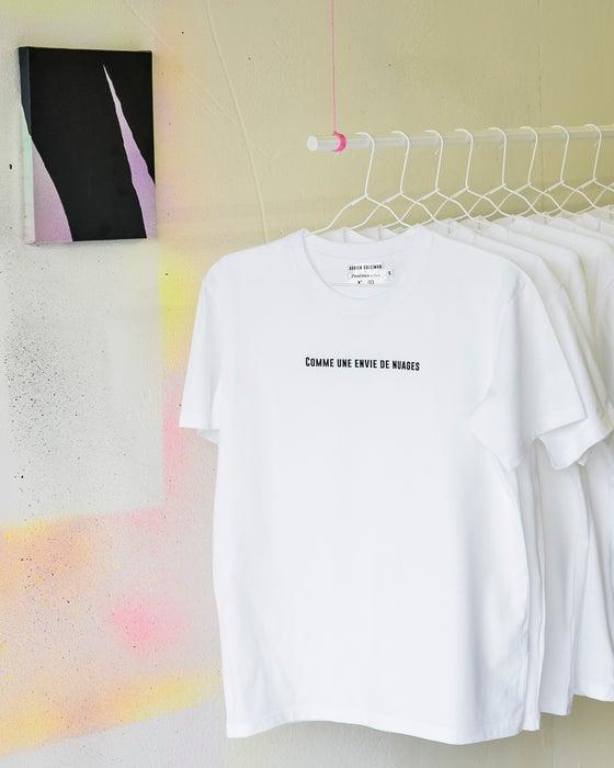 """Image of T-shirt """"Comme une envie de nuages"""""""