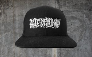 Image of Hate Diplomacy | Stitched Logo Snapback Hat