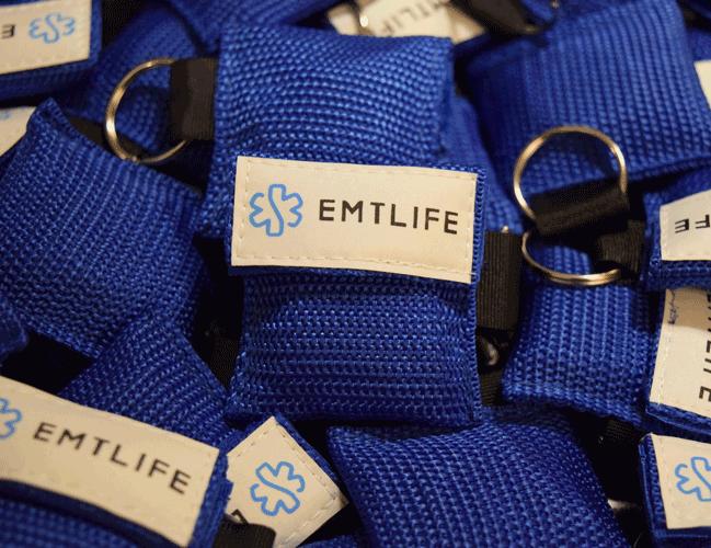 Image of EMTLIFE CPR Keychain (Blue)