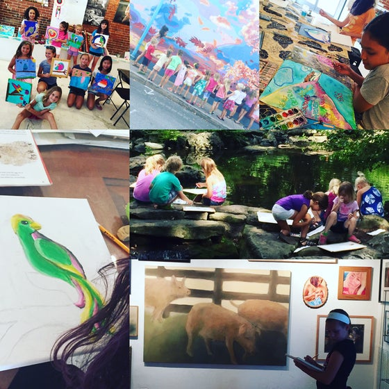 Image of July Tween/Teen Drawing and Painting Camp (ages 9-up)