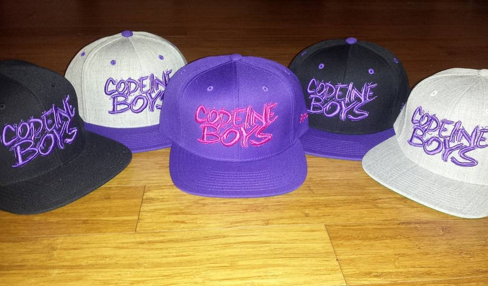 "Image of Siplean ""Codeine Boys"" snapback"