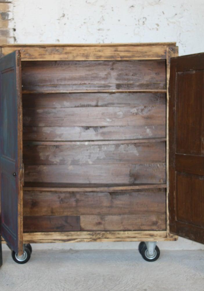 Image of Petit meuble de rangement mobile