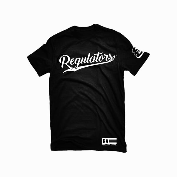 Image of REGULATORS BLACK T-SHIRT