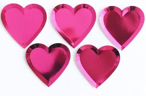 Image of Heart plates
