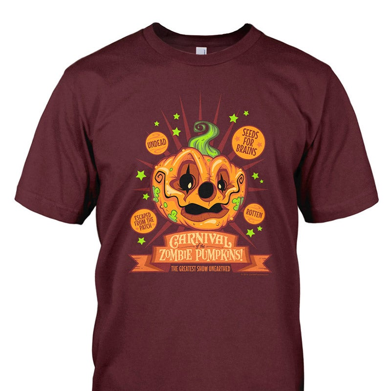 Image of Carnival of the Zombie Pumpkins! T-Shirt