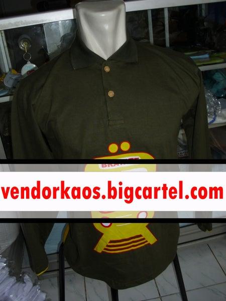 Image of vendor Kaos Komunitas kerah lengan panjang di Surabaya