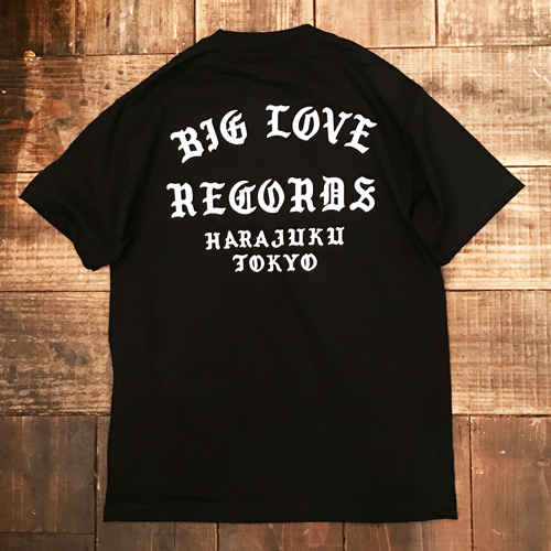 Image of BIG LOVE RECORDS CLASSIC SHORT SLEEVE T