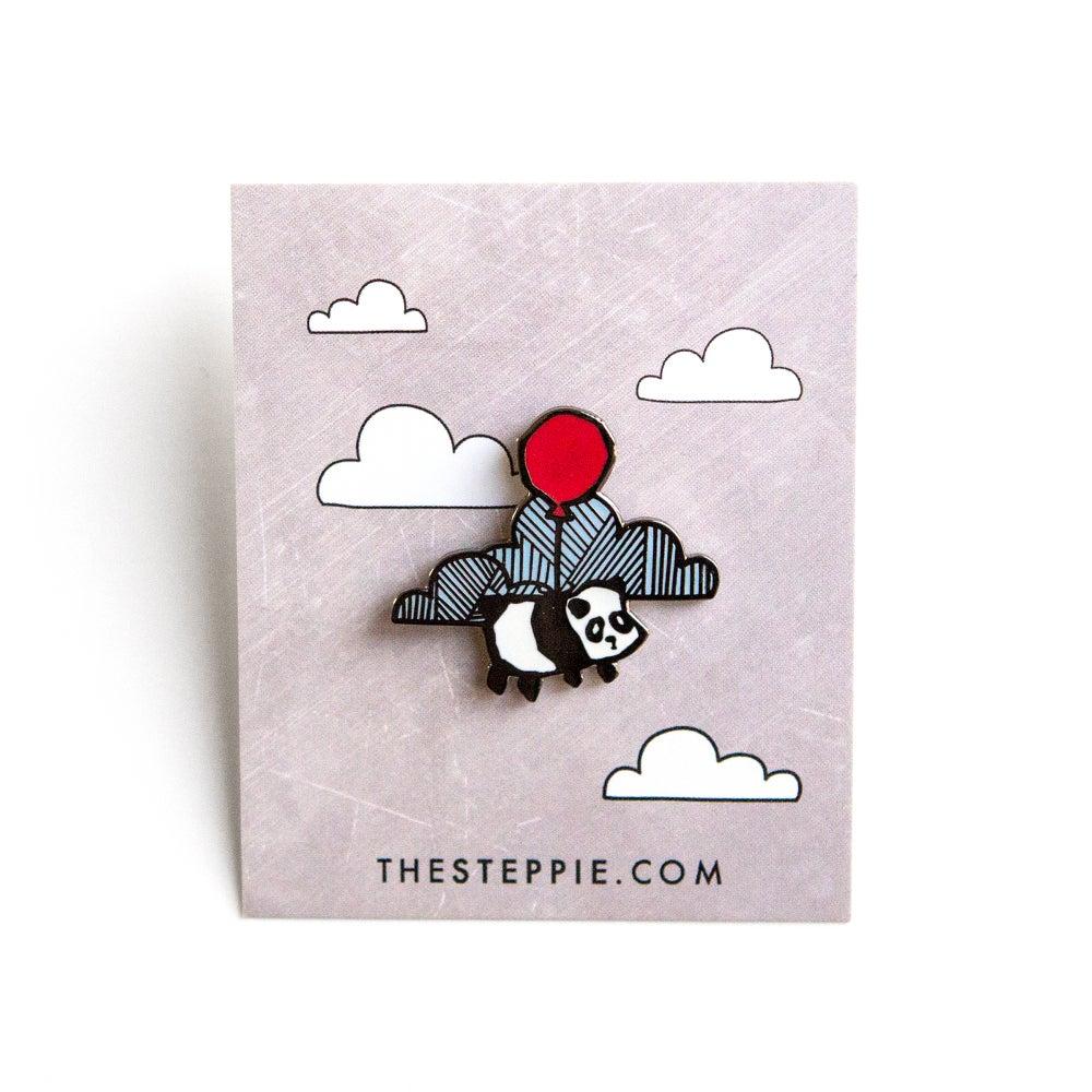 """Image of """"Flying Panda"""" Hard Enamel Pin"""
