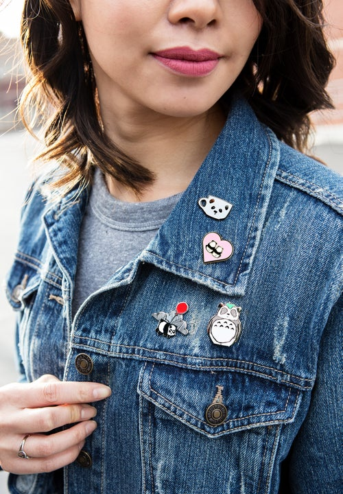 "Image of ""Totoro Panda"" Hard Enamel Pin"