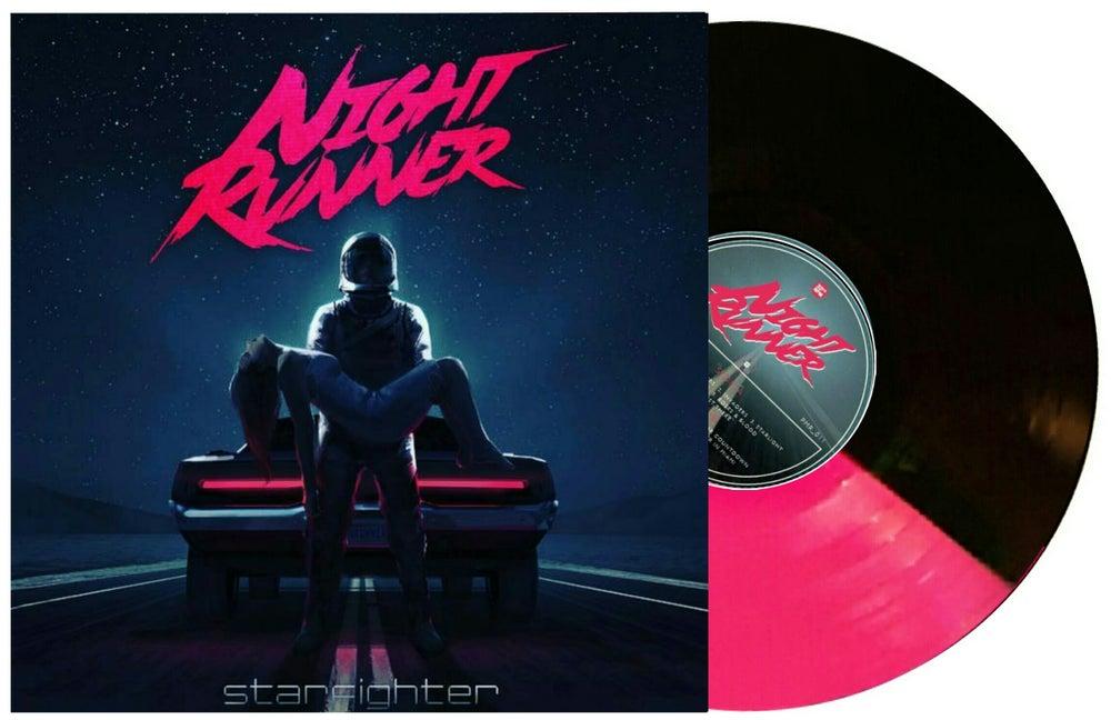 Image of Night Runner: Starfighter - Pink/black split