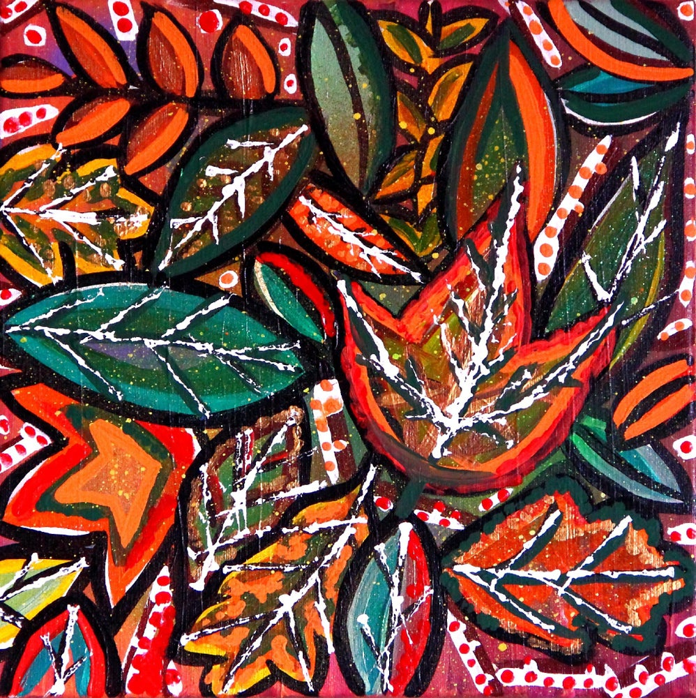Image of Autumnal Rest - Original Painting by Charlotte Farhan