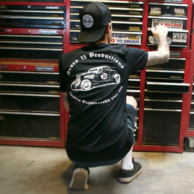 Image of American Craftsmanship 1934 Coupe T-shirt