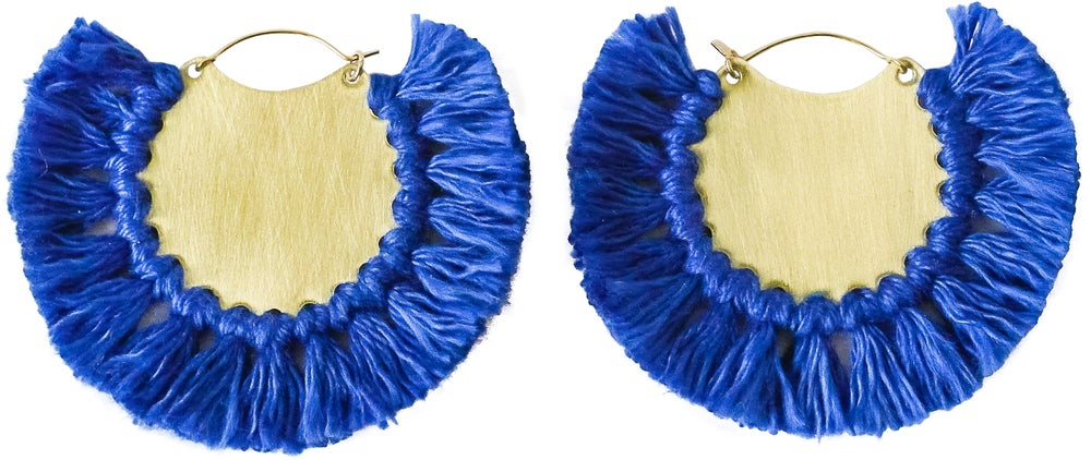 Image of Pavone Earrings