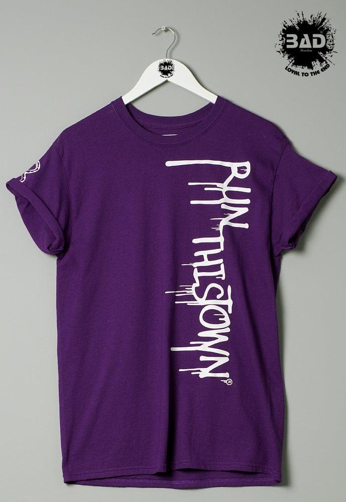 Image of Premium T shirt Run this Town URBAN DESIGNER STREET WEAR Fashion
