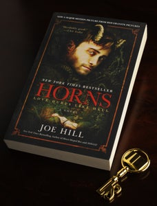 Image of Signed Set: Horns (trade paperback) & Biblio Key! - SOLD OUT