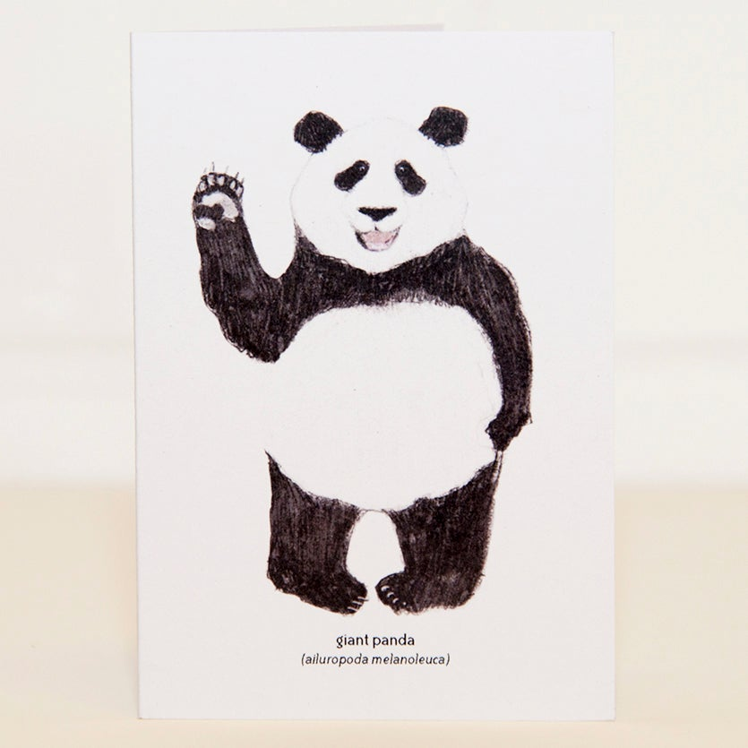 Image of Panda Mini Card