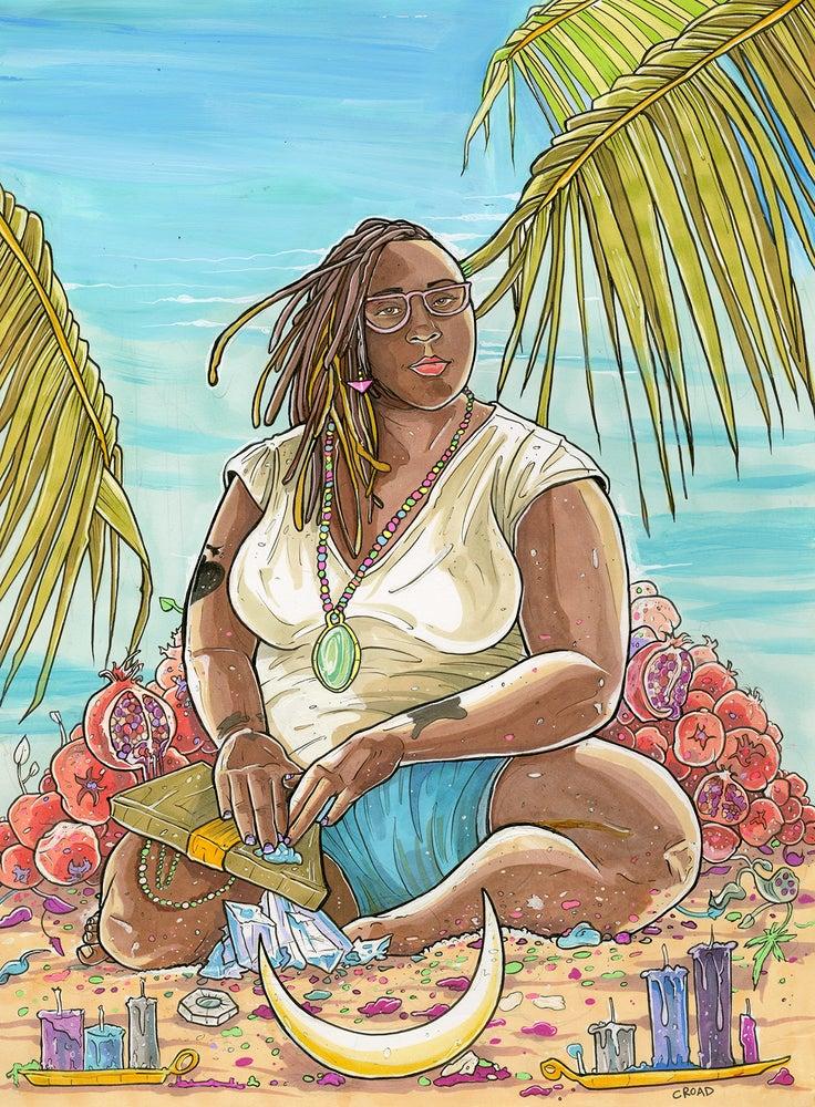 Image of NEXT WORLD TAROT: The High Priestess