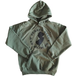 "Image of NJSOM ""LOGO MAP"" HOODY"