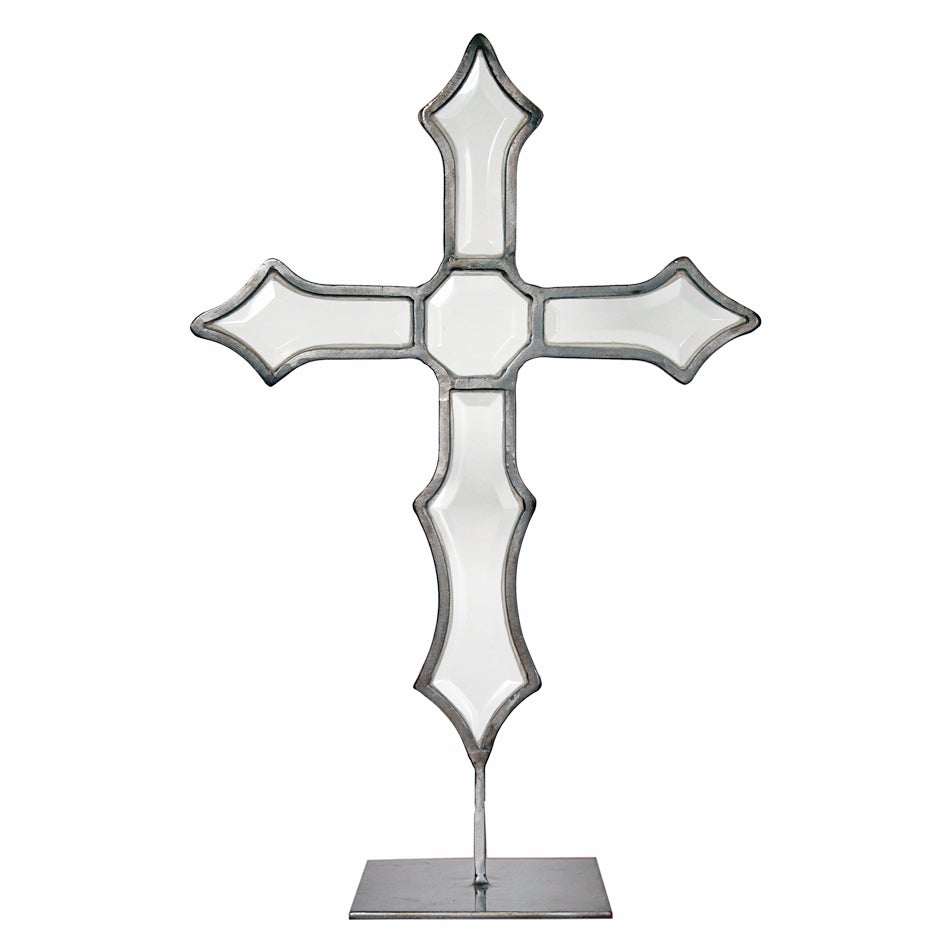 Image of Anthropology Glass Cross
