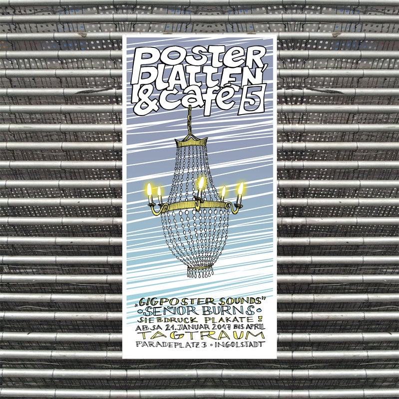 Image of POSTER, PLATTEN & CAFÉ (1-5)
