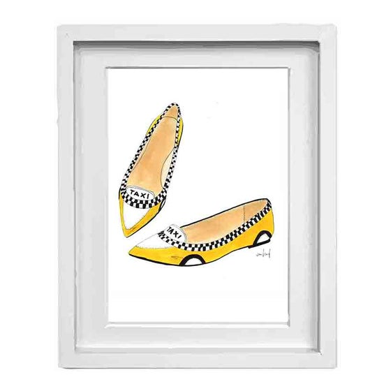 Image of NYC Taxi Cab Shoes
