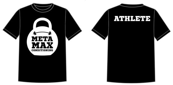 Image of Meta Max Conditioning Classic Tee - Black