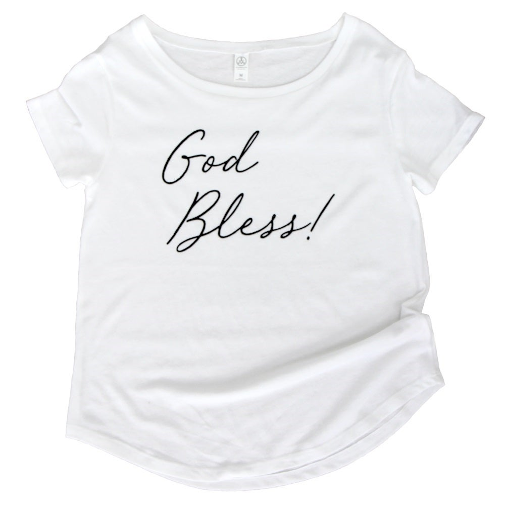Image of GOD BLESS! WOMEN'S TEE