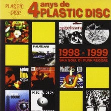 "Image of ""4 Anys de Plastic Disc"" CD"
