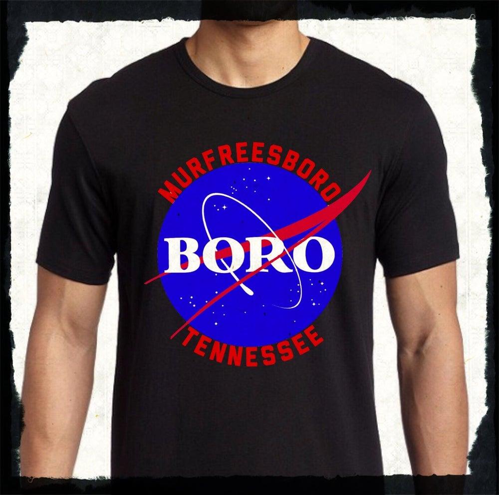 """Image of Murfreesboro """"NASA"""" style T-Shirt!!"""